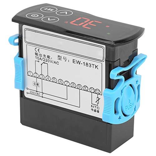 Controlador de temperatura Termostato estable y confiable Controlador de temperatura Pantalla táctil Sistema de calefacción de refrigeración con una gran pantalla LCD para refrigerador