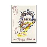 Michelle Basquiat abstrakte Drucke und Poster Wandbilder