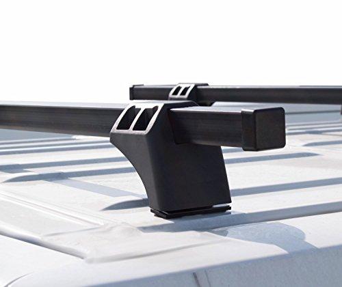 VDP kompatibel mit Renault Trafic ab 2014 Dachträger XL Pro 200 2 Stangen 200kg Lastenträger