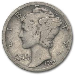 1923 S Mercury Dime Good/VG Dime Good