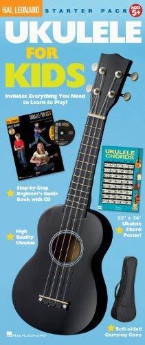 Hal Leonard ukelele para niños paquete de inicio completo