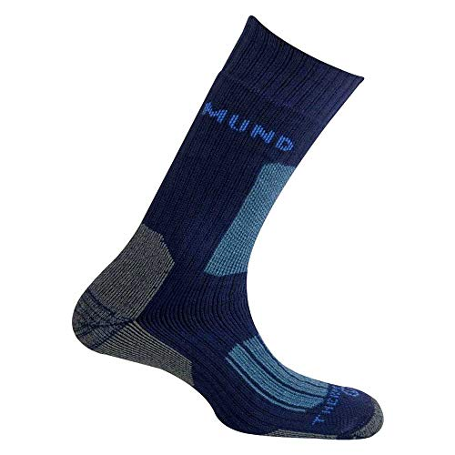 Mund Socks – Everest Thermolite, Couleur Navy, Taille EU 46 – 49