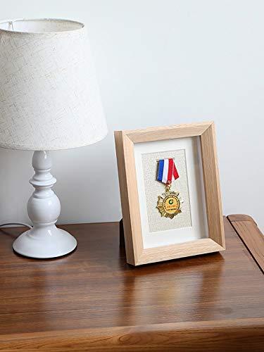 ZXZH Medaillenbox,Medaillenständer,Medaillenständer,Fotorahmen,Bilderrahmen,Medaillenausstellungsstände und,Medaillenausstellungsstände,Holzausstellungsstände zur Anzeige Medaillen Box。