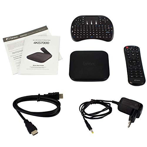 FANTEC 4KS7000 Android TV Media Player (4GB+64GB)