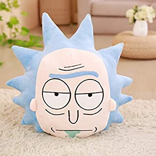 EXTOY and Morty Plush Stuffed Toys Comfortable and Soft Pillows Bolster 45Cm and 35Cm Morty Doll I Plush Toys Must Have Tools 4 Year Old Girl Gifts The Favourite Anime Superhero Party Decorations