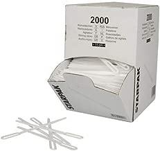 tradingbay24 Portionsbecher mit Deckel 500 St/ück PP 30 ml /Ø 46 mm 28 mm Weiss tbU95267 Kr/äuterbutterbecher to Go