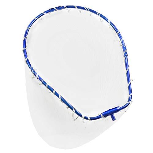 CHEUNG WIN 玉網 アルミオーバル 折りたたみ玉枠 ナイロンネット ランディングネット タモ網 大型たも網 超軽量