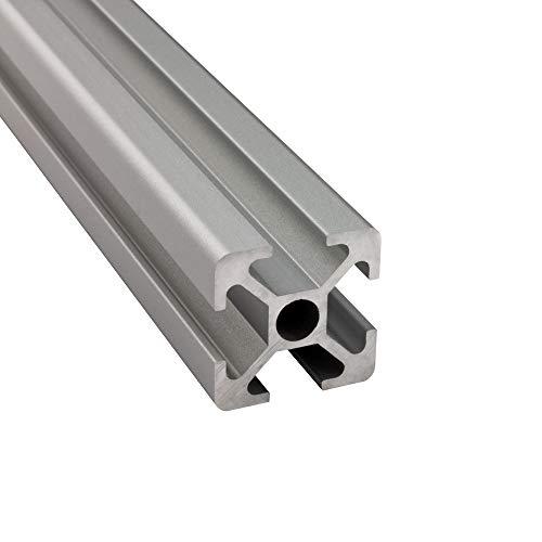 Alu Profil 20x20mm 2m System-, Montage-, Konstruktionsprofil Nut 6 600mm