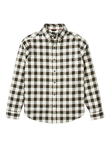 Marmot Herren Langärmeliges Outdoor-Hemd, Wander-Shirt mit Uv-Schutz, Atmungsaktiv Bodega Lightweight Flannel Long Sleeve, Papyrus, M, 44310