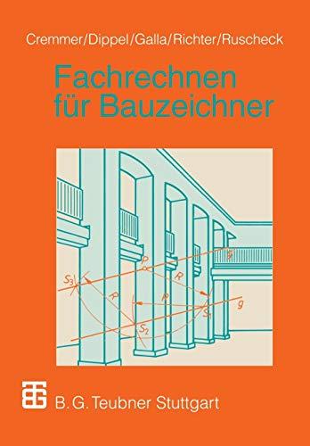 Fachrechnen für Bauzeichner (German Edition)