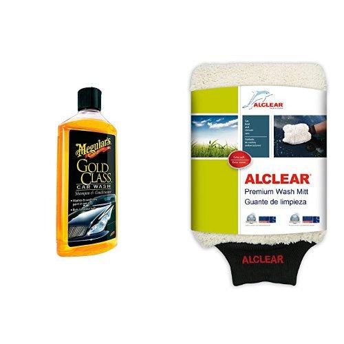 Meguiars Gold Class Shampoo Autoshampoo und ALCLEAR Waschhandschuh