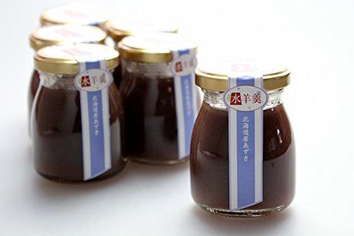 北海道産小豆を使った水羊羹6個セット水ようかん