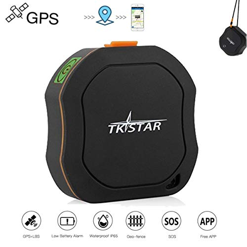TK1000 Mini Personal GPS Tracker Locator for Kids Elders Pet long standby time