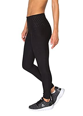 RBX Active Women's Plus High Waisted Contouring Leggings