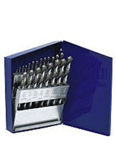 IRWIN Drill Bit Set, Cobalt, Jobber, Fractional, 21-Piece (63221)