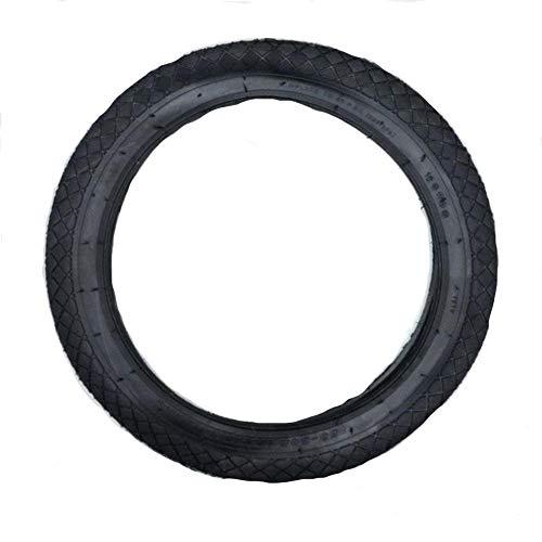 GAOLE 16 Pulgadas de Bici neumático 16 * 1.95 neumático de la Bicicleta for la Bici Plegable Ruedas Coloridas (Color : Black)