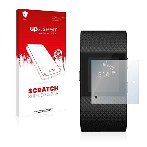 upscreen Schutzfolie kompatibel mit Fitbit Surge – Kristallklar, Kratzschutz, Anti-Fingerprint