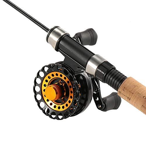 WHyLsL Fishing Reel Fishing Reels 7 BB Ball Bearing 2.8:1 Gear Ratio Raft Rechts Links Hand IJs Vis Wiel Met Opbergtas