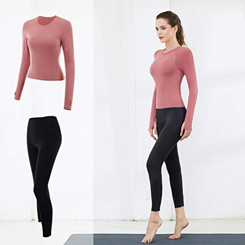 F-S-B vrouwen yoga pak toont dun temperament nylon capuchon sport fitness kleding