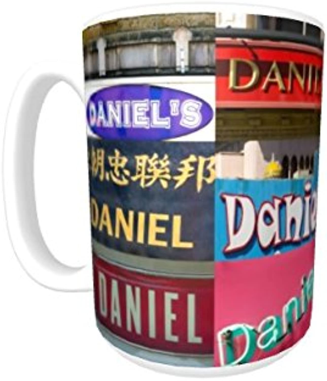 e83a754cf2aab DANIEL Coffee Mug using photos of real name signs personalized Cup ...