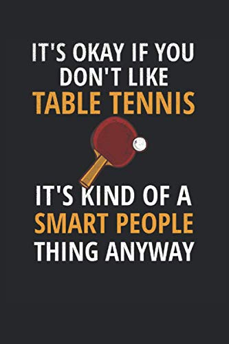 Ping Pong Lined Notebook: Table Tennis Notebook - Ping Pong Journal 120 Pages for Table Tennis Players Ping Pong Gifts Table Tennis Player Gifts Ping Pong Player Paddle Table Tennis Coach