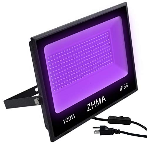 ZHMA 100W UV LED Black Light review