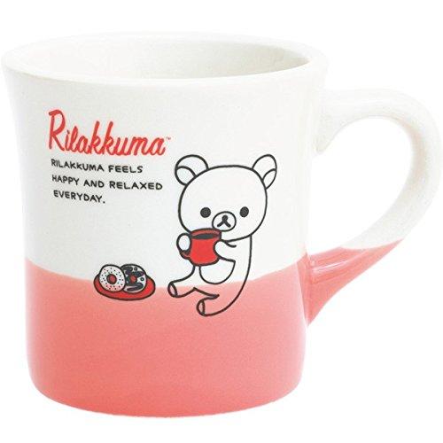 リラックマ Kitchen and lifestyle goods マグカップ レッド