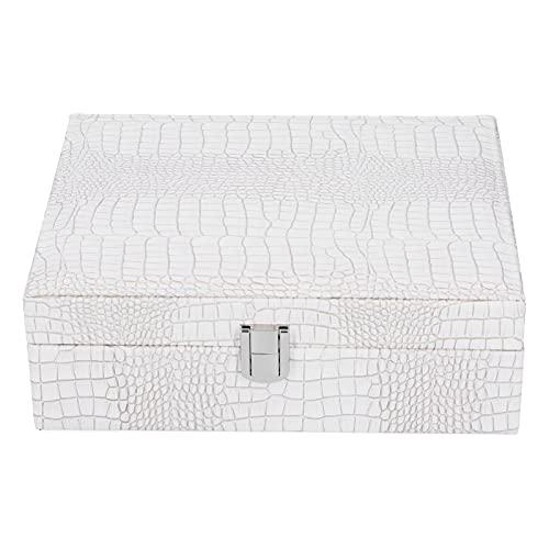 Jopwkuin Joyero, Caja fácil de los Ornamentos de la Gran Capacidad para el Festival para la decoración de la casa