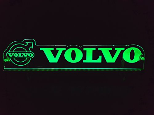 Other 24 Volt LED Light Neon Plate for Trucker Truck Green Illuminating Sign Table Cabin Decoration...