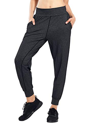 Matymats Women's Sports Harem Sweatpants Active Jogger Pants with Pockets (X-Large, 033-heather...