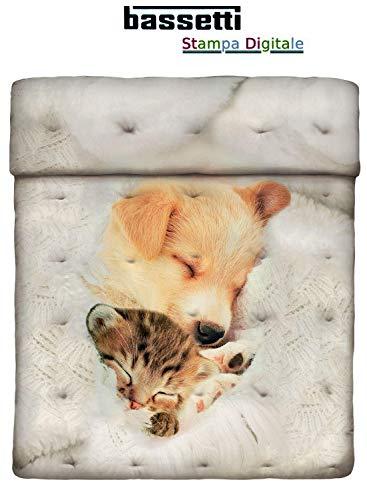 Trapunta invernale Bassetti SWEET SLEEP singola cm.170x260 -Collezione Imagine -tessuto cotone...