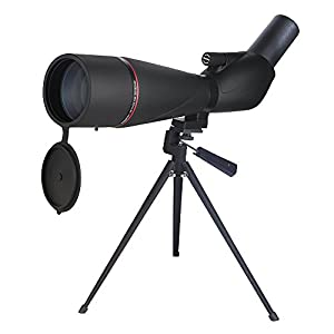 Eyeskey High-Power 40-60X80 AE Spotting Scope | Waterproof Fogproof | HD Bright Viewing | Wide Field of View Telescope for Wildlife Nature Watching Hunting