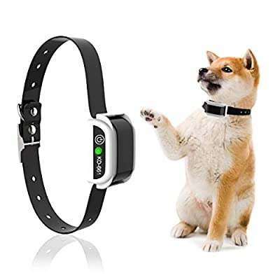 UTOPB Dog Collar for Wireless Dog Fence System & Dog Training, Waterproof Reflective Stripe Training Collar Receiver, Pet Dog Containment System-Extra Collar