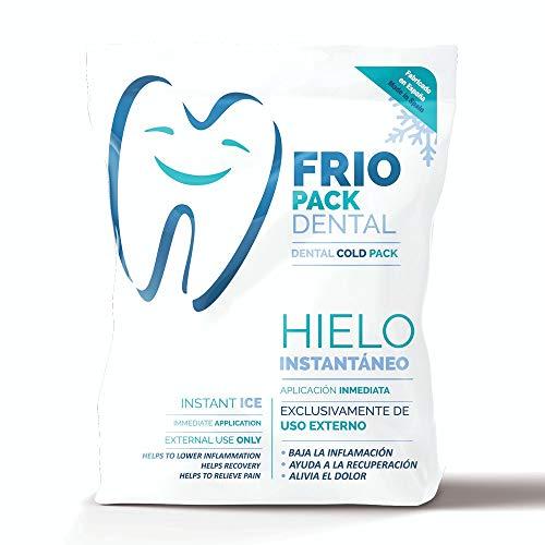 Bolsa Frío Pack Dental Instantáneo 14x15cm 1 Unidad Fabric