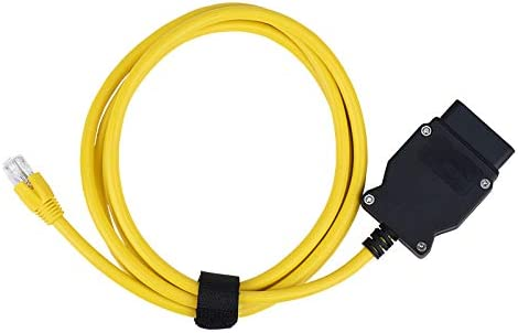 Bluechok ODB2 to Ethernet 6 6ft 2M Cable ENET Rj45 Cable ethernet Connector Tools to OBD Interface product image