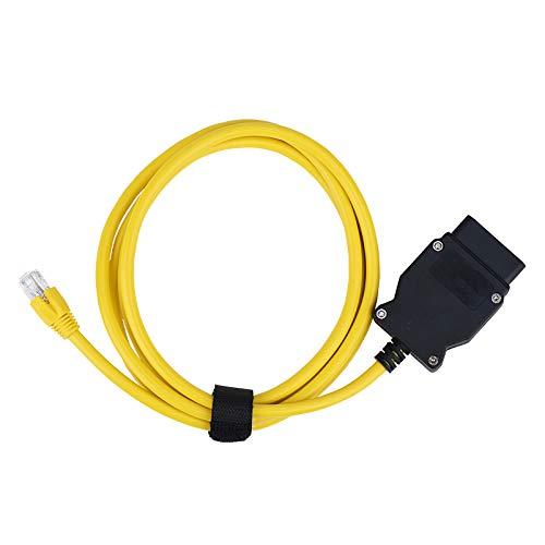 Bluechok Enet OBD2 Kabel Ethernet Stecker F suires Coding Kabel OBD2 auf RJ45 (1)