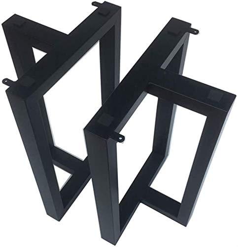 SHOP YJX Piernas de Mesa x2, Marco de Soporte Triangular, Utilizado para mesas de Comedor, mesas de té, escritorios, Alto Rendimiento de Carga 200 kg (440ib) (Size : 70x68CM (Two Pieces))