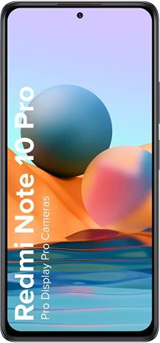 Redmi Note 10 Pro (Dark Night, 6GB RAM, 64GB Storage) -120Hz Super Amoled Display | 64MP with 5MP Super Tele-Macro, Normal