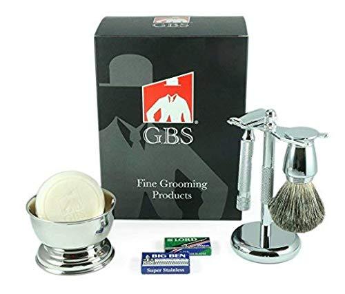 GBS Shaving Gift Set Made in Solingen Germnay MK 38C Safety...