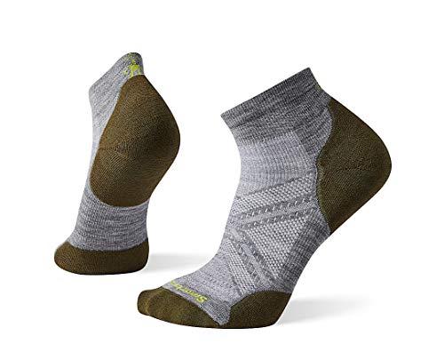 Smartwool PhD Run Light Elite Low Cut Socks Mixte Adulte, Lunar Gray, FR : L (Taille Fabricant : L)