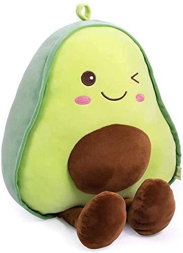 FATEGGS Juguetes Rellenos Relleno Aguacate Fruit Soft Llush Juguete Abrazando Regalos De Almohada para Niños Niño Muchacho Y Amigos Navidad (Size : 17.7inch)