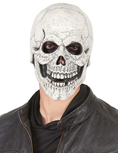 DEGUISE TOI - Masque Latex Squelette moqueur Adulte - Taille Unique