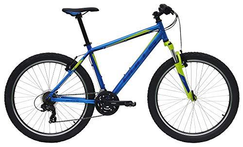 Bulls Pulsar Herrenfahrrad 2019 Mountainbike MTB 26 Zoll 21 Gang, Rahmenhöhe:41 cm, Farbe:blau