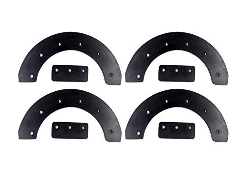 Pro-Parts 302565ma 302565 Replacement Rubber Paddle Set for Craftsman Murray Snowblower