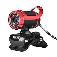 HDウェブカメラ SkypeのAndroidテレビ回転式コンピューター特殊効果カメラウェブカメラ用吸収マイクマイク付き480pウェブカム