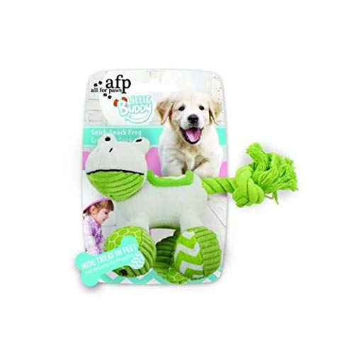 ALL FOR PAWS AFP4212 Jouet pour Chiots Little Buddy Snick Rana