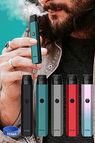 電子タバコ スターターキット ZQ Xtal Pod 520mAh 日本語説明書付 液漏少ない (⑤ Gradient Pink)