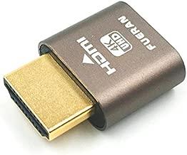 HDMI Dummy Plug,Headless Ghost, Display Emulator (Fit Headless-1920x1080 New Generation@60Hz)