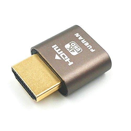 HDMI-Dummy-Stecker, Headless Ghost, Display-Emulator (Fit Headless-1920x1080 Neue Generation @ 60Hz)