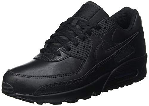 Nike Herren Air Max 90 Ltr Laufschuh, Schwarz, 45 EU
